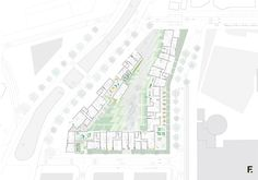 First floor Plan - Housing, architecture visualization, Housing design