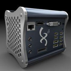 Xi3 Modular Computer, Athlon Dual Core 3400E, 64GB SSD, Win7 Pro 64bit (USD756 approx S$940)