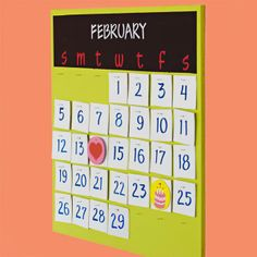 Surprise Mom with this DIY family calendar.
