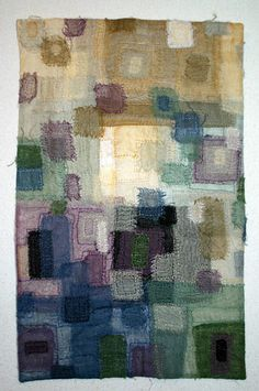 Fiber art by Rosemary Claus-Gray - Large Abstract Works