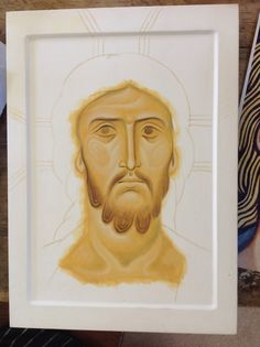 Christ 2 Religious Icons, Religious Art, Byzantine Icons, I Icon, Sacred Art, Techno, Drawings, Face, Inspiration