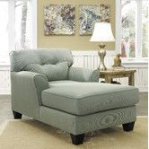 Found it at Wayfair - Sanford Chaise  I would replace one of the flowered chairs with this....nice