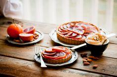 Blood Orange Honey-Glazed Five Spice Tart with Almond Cream   Desserts for Breakfast