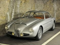 """ Alfa Romeo 1900 Super Sprint Zagato Coupé "" - Cars and motor Vintage Sports Cars, Vintage Cars, Automobile, Alfa Alfa, Alfa Romeo Spider, Roadster, Alfa Romeo Giulia, Alfa Romeo 156, Alfa Romeo Cars"