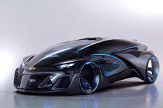 Chevrolet FNR Concept Dreams of a Self-Driving Future