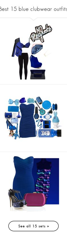 """""""Best 15 blue clubwear outfits."""" by crazygirlandproud ❤ liked on Polyvore featuring Alivila.Y Fashion, Bamboo, Sydney Evan, New Look, Mary Katrantzou, art, Emilio Pucci, Lola, Oh My Love and Haze"""