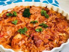 kylling med bacon og pikantost er den bedste lille hverdagshitter- Så nem Baby Food Recipes, Low Carb Recipes, Vegetarian Recipes, Chicken Recipes, Dinner Recipes, Healthy Recipes, Yummy Food, Tasty, Breakfast Snacks