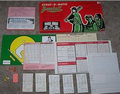 Strat-o-Matic Baseball Game. My favorite board game of all time. Now on PC also. Honorable mention: Waterloo, by Avalon Hill. There may be better Waterloo games, but I've never had so much fun as I have on Avalon Hill's game. Baseball Games, Sports Games, Avalon Hill, Video Game Industry, 80s Kids, Games To Play, Playing Games, Where The Heart Is