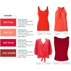 """""""reds"""" by expressingyourtruth on Polyvore"""