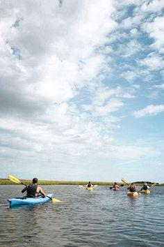 Blackriver Outdoors Salt Marsh kayak tour Photo from Ckanani Myrtle Beach Attractions, Myrtle Beach Hotels, Myrtle Beach Vacation, North Myrtle Beach, Beach Trip, South Carolina Vacation, Kayak Tours, Salt Marsh, Kayaking