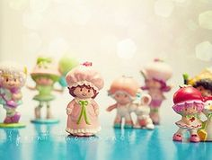 Strawberry Shortcake dolls I loves theses little ones.