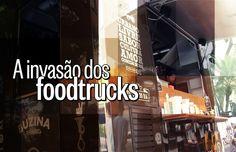 Moda nos Estados Unidos, os pratos elaborados servidos - e parcialmente preparados - em caminhões ganham espaço nas ruas brasileiras.