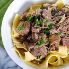Slow-Cooker-Beef-Stroganoff
