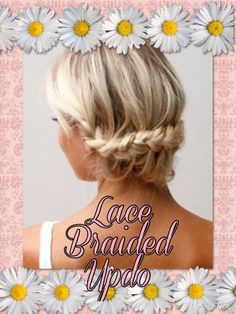 Lace Braided Updo - So Pretty & Super Easy Too! #Health #Fitness #Trusper #Tip