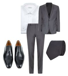 """""""Mr. James Phelps Attends an Engagement Party"""" by katrina259 ❤ liked on Polyvore featuring Magnanni"""