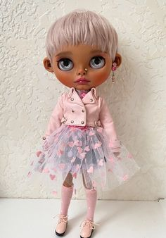 Excited to share the latest addition to my #etsy shop: Custom Blythe doll OOAK Blythe Dolls For Sale, Philtrum, Beautiful Dolls, Art Dolls, Harajuku, Eye Candy, Carving, Etsy Shop, Cute Dolls