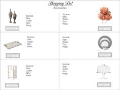 Interior finish schedule template guidelines pinterest - Interior design schedule template ...