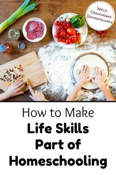 How to Make Life Skills Part of Homeschooling It's vital to cover academics and electives, but we also need to be homeschooling life skills and giving our kids the tools they need for adulting. Home Economics, Home Schooling, Teaching Life Skills, Practical Life, Kids Education, Outdoor Education, Special Education, Home Learning, Lessons For Kids