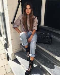 Guita Moda: 5 Maneiras de criar um look sofisticado com seu jeans rasgado