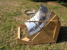 Un four solaire parabolique