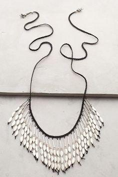 Anthropologie Tahiti Fringed Necklace on shopstyle.com