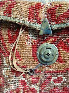 Victorian Carpet Bags Luggage   Original Civil War Era CARPET BAG - Antique Carpetbag - 1860s Luggage