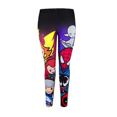 Who is more kawaii? Chibi Marvel or she who wears them? | 22 Leggings For Every Fandom To Keep You Warm This Winter
