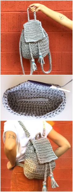 Crochet Easy And Cute Backpack