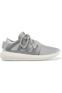 cbd180fb064cda adidas Originals - Tubular Viral neoprene and leather sneakers
