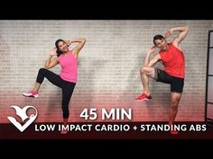 45 Min Tabata HIIT Cardio and Abs Workout No Equipment Full Body at Home Training for Fat Loss - YouTube
