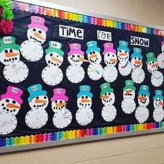 It's time for snow in @thesassysub's classroom! Does anyone have snow falling in their neck of the woods?