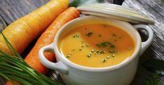 Carottes, pommes et gingembre...Une soupe tellement savoureuse