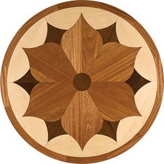 Oshkosh Designs Charleston Inlay Medallion - contemporary - wood flooring - milwaukee - by Oshkosh Designs