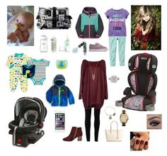 """""""Day with the kids"""" by kpd-2016 on Polyvore featuring Graco, Dr. Brown's, Playtex, Kalencom, Vans, The North Face, The First Years, Max Studio, Vera Wang and Blukey"""