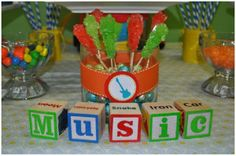 music theme birthday party kid-birthday-ideas | Party Ideas