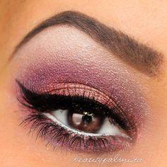 Smoky eye - Pink