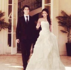 My favorite pair ever. Damon and Elena