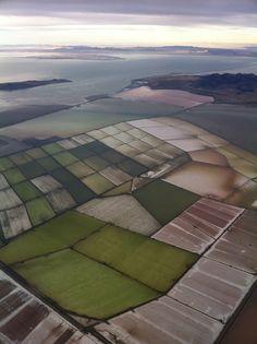 aerial photo near Salt Lake City, Utah