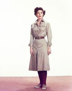 Ava Gardner in costume for The Snows of Kilimanjaro, 1952