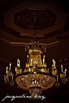 Chandelier at the Bourbon Orleans Hotel's Orleans Ballroom www.bourbonorleans.com Photo credit: Jacqueline Kay Photography