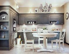 Серая кухня: фото в интерьере в сером цвете, дизайн