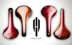 Nice saddles by Heritage Paris x Brooks