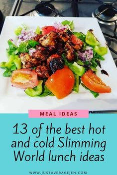 This Slimming World recipe for sticky chicken salad is perfect for the whole family. It is sweet, tasty and full of flavour whilst also being low syn. Slimming World Lunch Ideas, Slimming World Recipes, Savory Rice, Sticky Chicken, Vegetarian Recipes, Healthy Recipes, Easy Recipes, Speed Foods, Frozen Vegetables