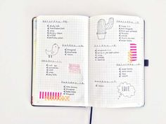 modern minimal bullet journal, inspiration