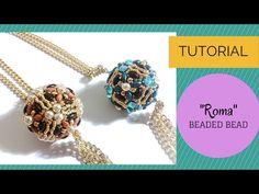 Roma beaded  bead