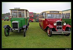 Old buses, South Shields Daily Photo