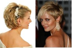 Image detail for -short wedding hairstyles for brides