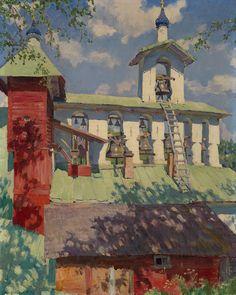 Color & Light - Sergei Vinogradov -Pechersky Monastery. The...