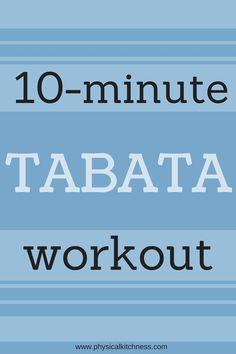 10-Minute Tabata