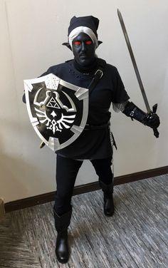 [Self] Dark Link cosplay for DragonCon: gaming Link Cosplay, Pc Gamer, Legend Of Zelda, Card Games, Videogames, Batman, Superhero, Guys, Comics